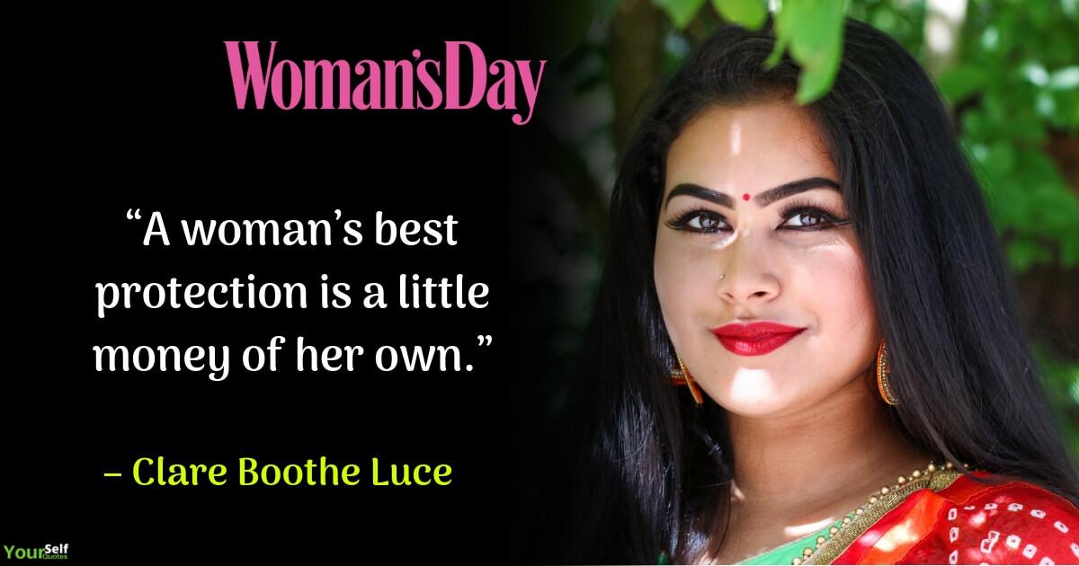 Kutipan Hari Wanita oleh Clare Boothe Luce