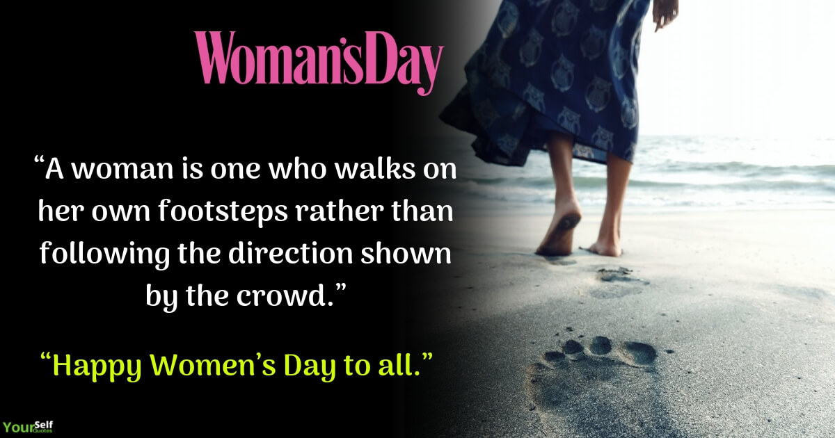 Womens Day Quote