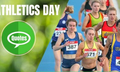 World Athletics Day Quotes