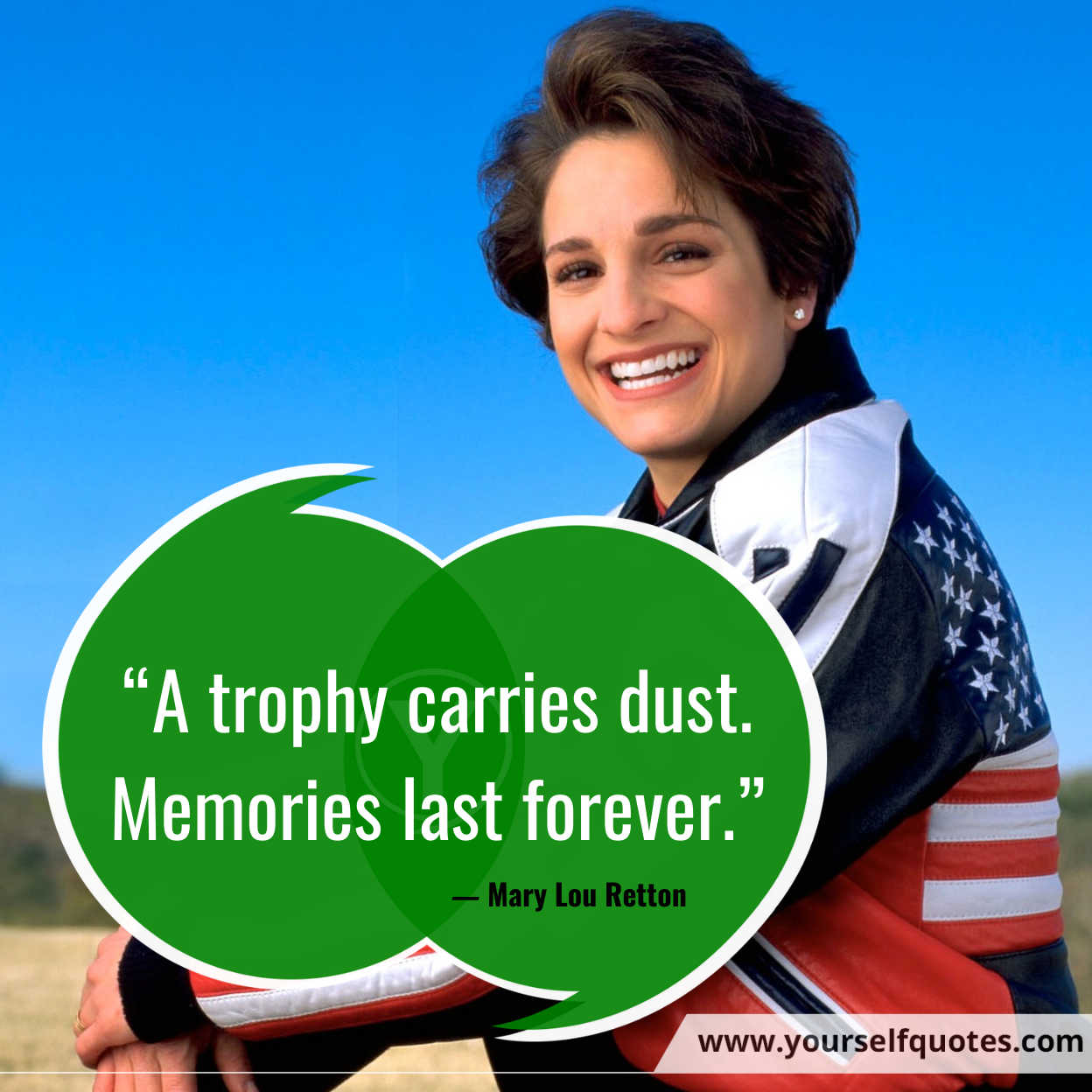 World Athletics Day Quotes Images by Mary Lou Retton