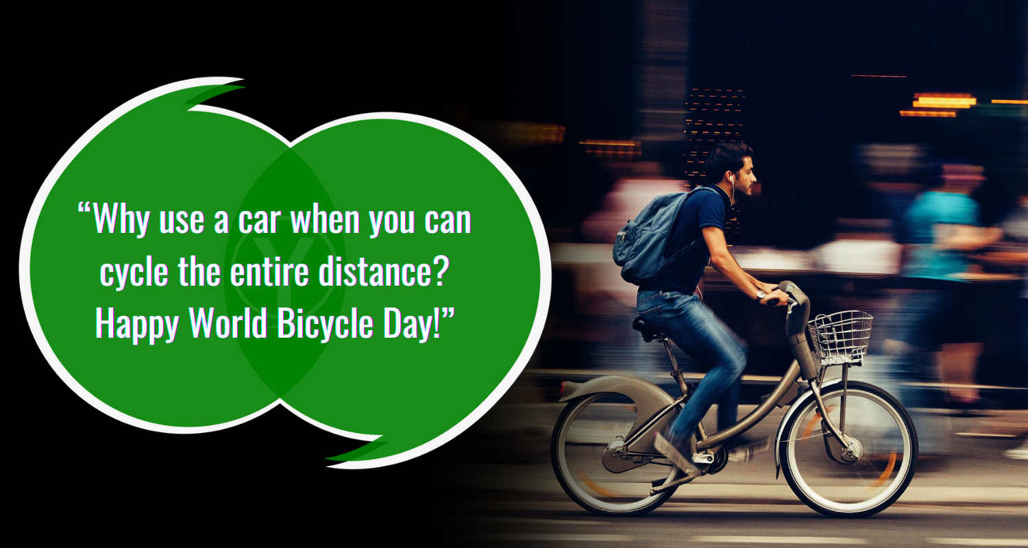 World Bicycle Day Quotes Images