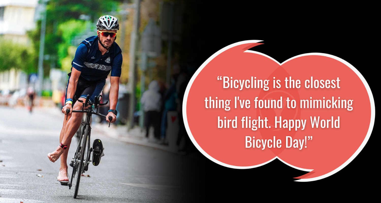 Wallpaper Kutipan Hari Sepeda Dunia