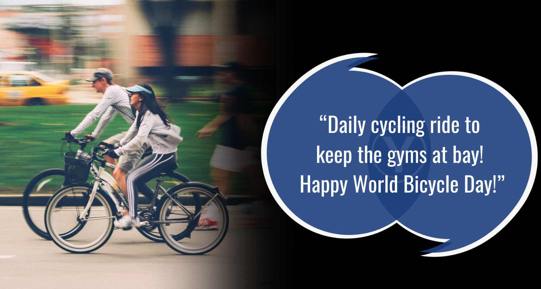 Pesan Selamat Hari Sepeda Sedunia