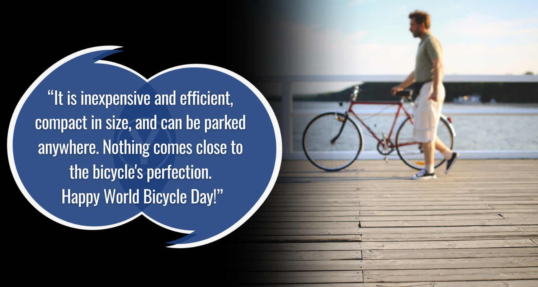 kutipan hari sepeda dunia bahagia