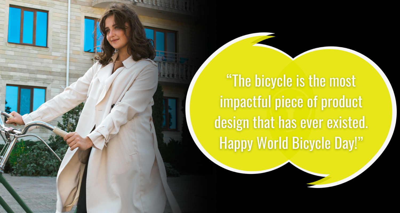 Kutipan dan Keinginan Hari Sepeda Sedunia