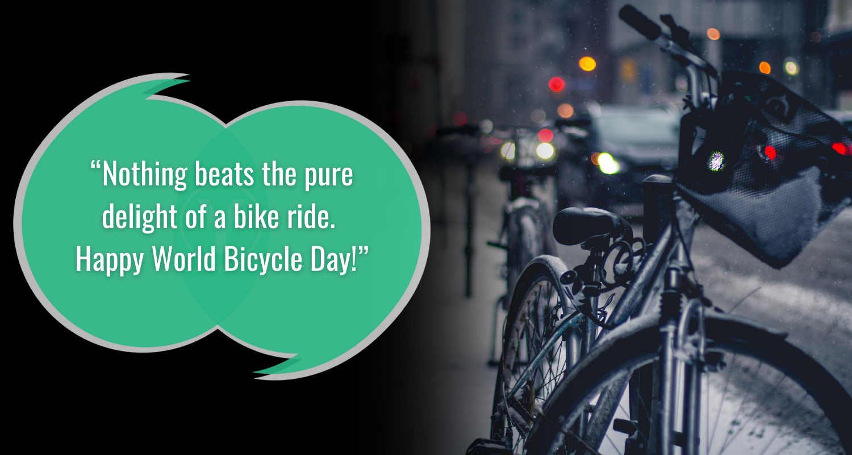 Foto Kutipan Hari Sepeda Sedunia