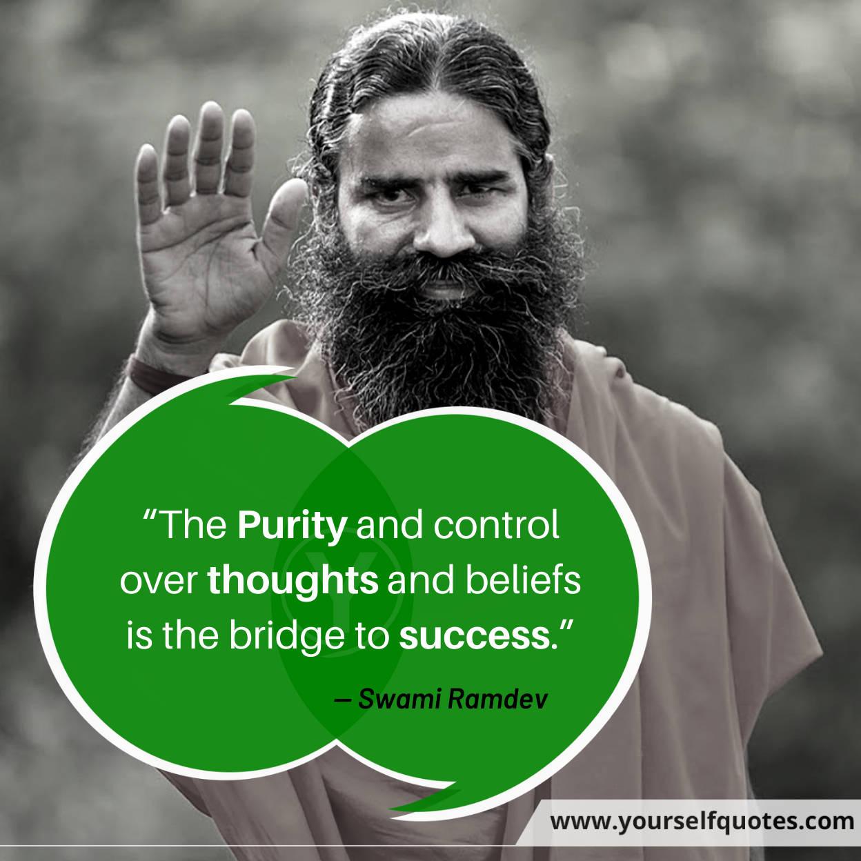 Yoga Guru Swami Ramdev Baba Quotes