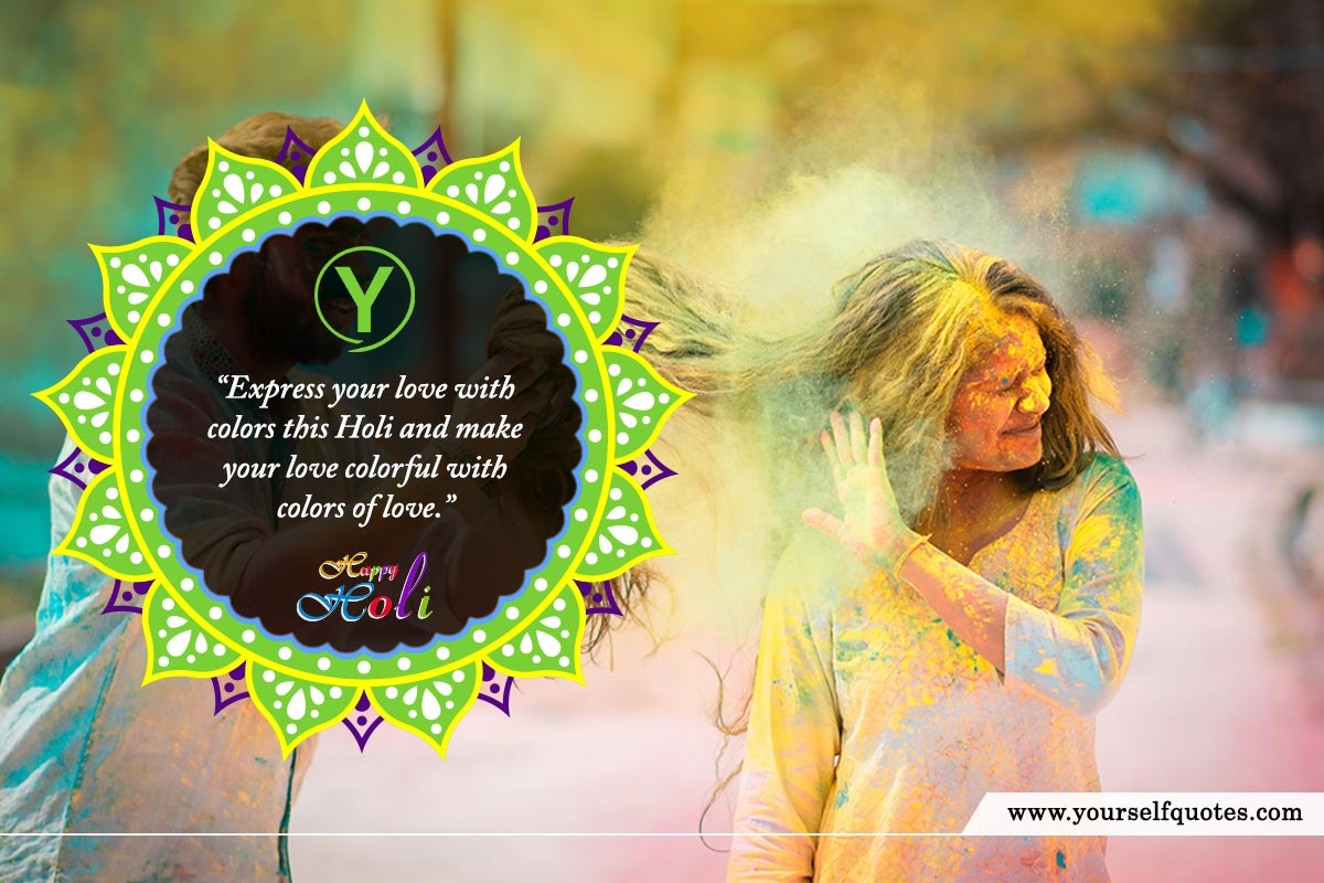Happy Holi Wishes Quotes Photos