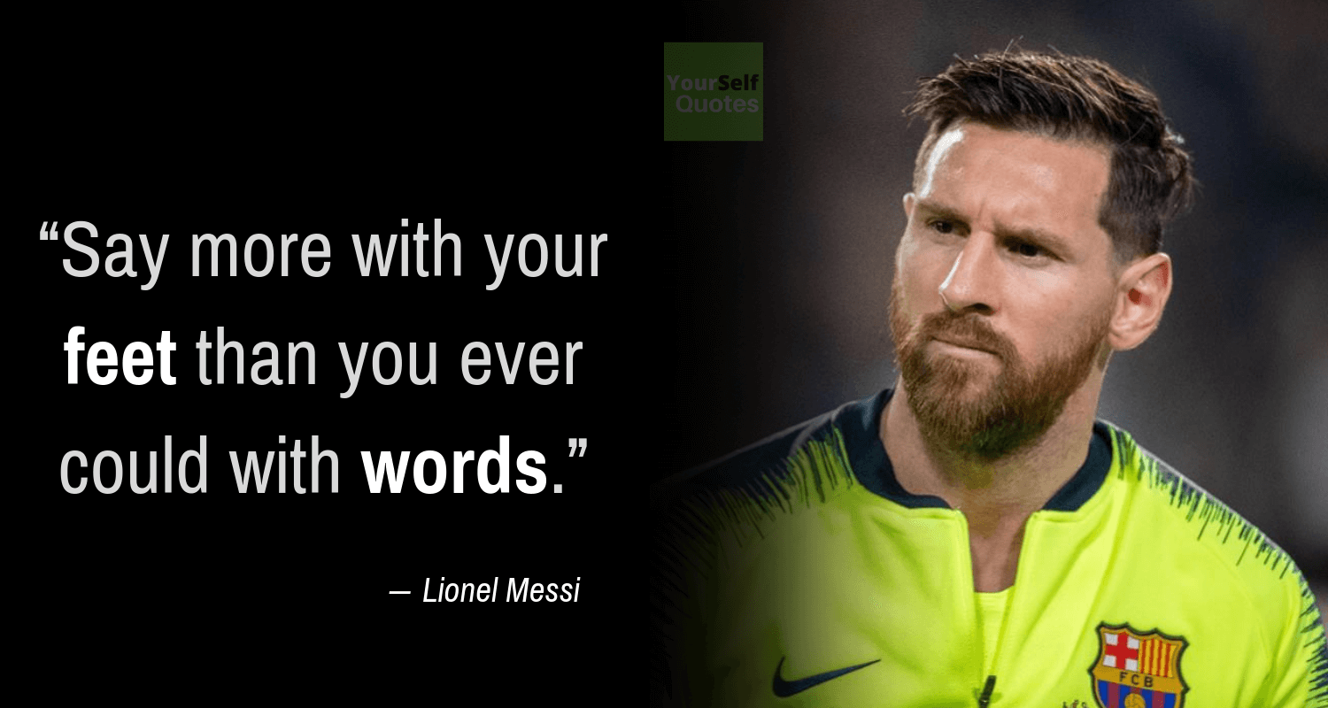 Messi Quotes Wallpaper