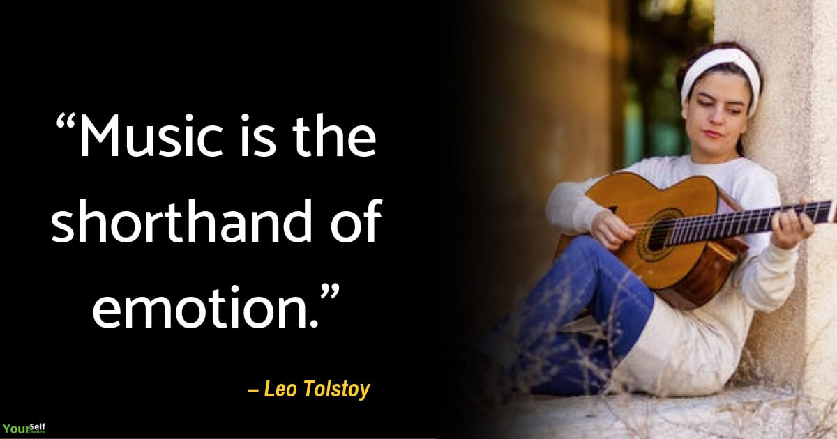 Music Quotes by Leo Tolstoy